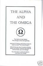 ALPHA and OMEGA Book/Dr. Kellogg/Ellen White/Seventh-day Adventist~Apostasy~SDA