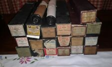 Vintage Mixed Lot Piano Rolls, QRS- SIng A- Universal-Player Piano