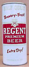 REGENT BEER 16oz ss Pull Tab CAN, Champale Products Corp, Norfolk, VIRGINIA 1970
