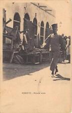 CPA DJIBOUTI PATISSIER ARABE