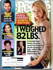 People - 2010, November 15 - Portia De Rossi's Anorexia Nightmare, Ricky Martin