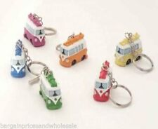 Novelty Cute Mini VW Camper Van Resin Keyring Key Chain