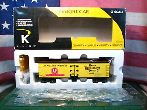 K-line K742-8020 A&P URT Reefer # 23030 With Still Sealed Load Inside Car W Box