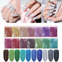 5g 10g 20g Polvere Glitter per Unghie Nail Glitter Powder Olografico Nail Art
