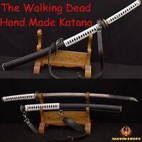 The Walking Dead Sword-Michonne's Katana Zombie Killer Battle Realy Sword SHARP