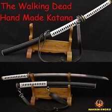 The Walking Dead Sword-Michonne's Katana Zombie Killer Battle Realy Sword SHARP