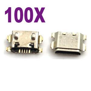 100pcs Micro USB Port Dock Port connector For Motorola Moto E 2020 XT2052