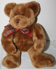 "Sesil Jointed Tedy Bear with Valentine Heart 13""  Soft Plush EUC"