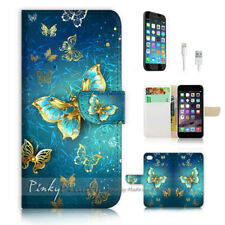 ( For iPhone 8 Plus / iPhone 8+ ) Case Cover P1774 Butterfly