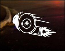 Turbo Caracol coche decal sticker Vinilo Jdm Euro Dub Drift divertida carrera Boost Reforzados