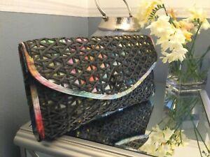 Large Ted Baker clutch bag