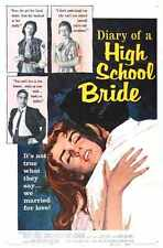 Diary Of High School BriDe Poster 01 Metal Sign A4 12x8 Aluminium