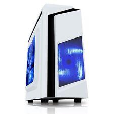 CiT F3 White Midi Tower Gaming Case - USB 3.0