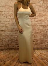 Abendkleid lang Cokctailkleid Abikleid Maxikleid Kleid Ballkleid Neckholder Gr36