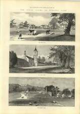1889 The Royal Farms In Windsor Park Dairy Farm Home And Flemish Farm