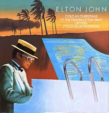 Elton John Cold As Christmas 3 track  Uk 12""