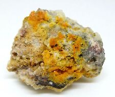 MIMETITE & WULFENITE cristaux - Tigre, Arizona, USA - 38 x 30mm 4 C