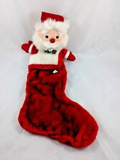 "Santa Claus Christmas Stocking 19"" Midwestern Home Products"