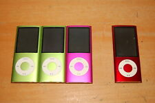 Lot of 4 Apple iPod, 3- A1285 8Gb & 1- A1320 8Gb for Parts or Repairs