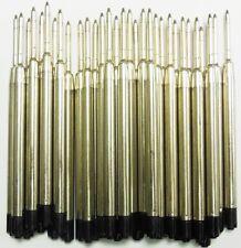 6 - Ballpoint Refills for TACTICAL PEN - BLACK Medium