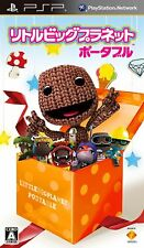 Used PSP LITTLE BIG PLANET PORTABLE   SONY PLAYSTATION JAPAN IMPORT