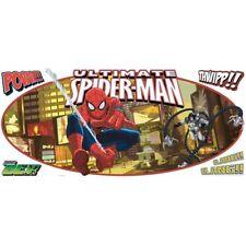 Ultimate SPIDERMAN large MURAL wall sticker 5 decals Marvel superhero Spidey