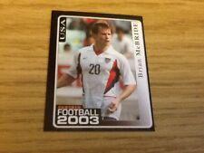 #183 Brian McBride/usa/panini fútbol 2003 Pegatina Panini de fútbol rara
