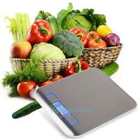 5kg Stainless Steel LCD Electronic Digital Kitchen Scale Cook Food Weighing Tool