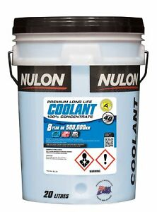 Nulon Blue Long Life Concentrate Coolant 20L BLL20 fits BMW 1 Series 118 i (E...