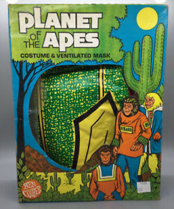 Ben Cooper Super-Hero Costume - Planet Of The Apes Warrior - In Box