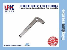 Mercedes Benz C Class Remote Key Blade Cut to your car! Guaranteed to fit!