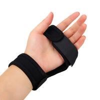 Flashlight Gloves on Arm/Wrist Hand-Free Black Nylon Holder Portable Durable HOT