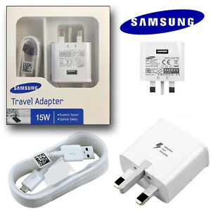 100% FAST Charger Plug OR Type C USB-C Cable For Samsung Galaxy S8+ S9+ S10 S20
