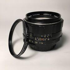 Pentax Super-Takumar 50mm F1.4 M42 Screw Lens with Pentax L39(UV) filter*