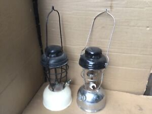 Two Tilley Storm Lamps
