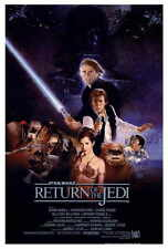 """STAR WARS RETURN OF THE JEDI Movie Poster [Licensed-New-USA] 27x40"""" Theater Size"""