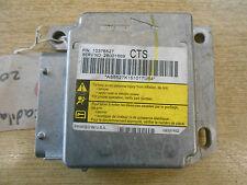 CADILLAC CTS MK1 2005 AIRBAG CONTROL MODULE CRASH ECU UNIT 10376527