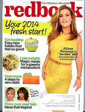 Redbook Magazine January 2014 Alison Sweeney EX 032216jhe