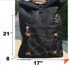 Men Black Backpack Rucksack Travel Sport Hiking Schoolbag Laptop Notebook Bags