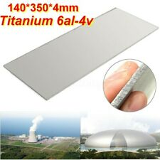 "Thick Titanium 6al-4v Sheet (0 .157"" x 5.5"" x 13.8"" ) Grade 5Ti Gr5 Plate 4mm UK"