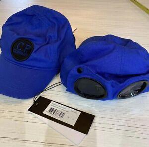 C.P Goggle Cap Baseball Style Cap Size Large Royal Blue # EM2