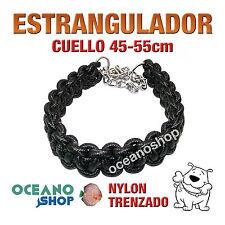 COLLAR ESTRANGULADOR PARA PERRO GRANDE ADIESTRAMIENTO NYLON 45-55cm L6 2239