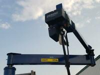 New Starquip / Demag Articulating Jib Crane 275 lb /  10' High x 11' Reach