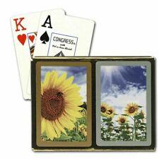 Congress Bridge 2 Deck Set Southern Charm Playing Cards Regular or Jumbo Index
