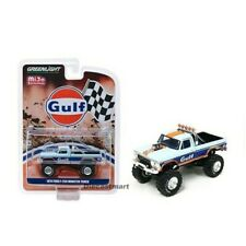 Greenlight 1:64 Mijo Exclusive Ford F250 Monster Truck GULF Livery 51288 Diecast