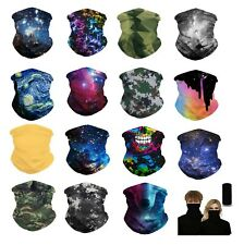 Neck Gaiter Neckerchief Bandanna Headband Face bike Mask