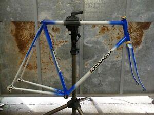 Vintage 80's Belgian Martelly (Colnago) Columbus SL steel frameset campagnolo