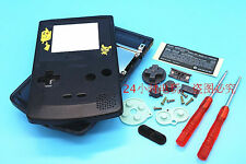W Transparent Black Housing Shell Case Frame Part f Nintendo Gameboy Color GBC