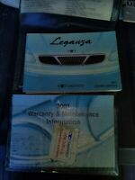 2001 Daewoo Leganza Owner's Manual