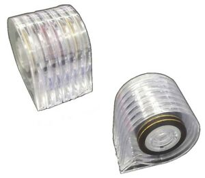 Zierstreifenabroller 7er Stripe Streifen Strip Nailart  + 1 Zierstreifen